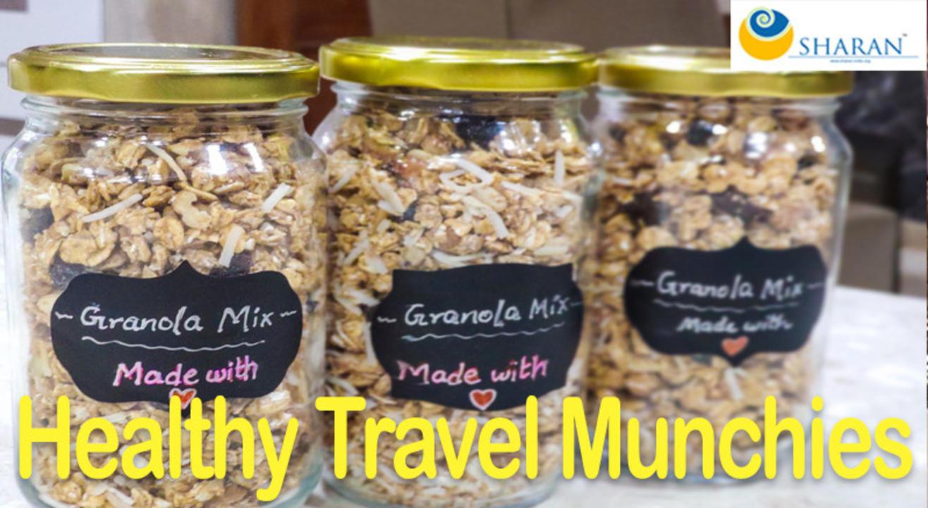 Healthy Travel Munchies