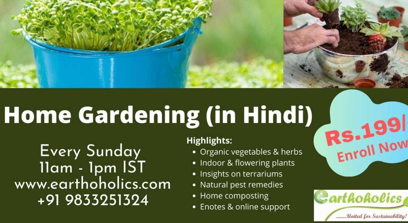 Online:Home Gardening in Hindi
