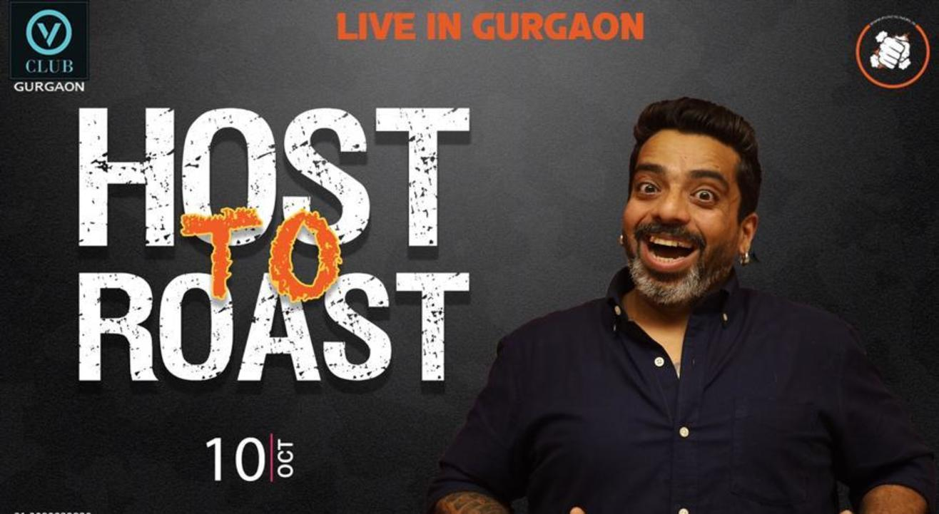 Punchliners Host To Roast ft. Jeeveshu Live in Gurgaon