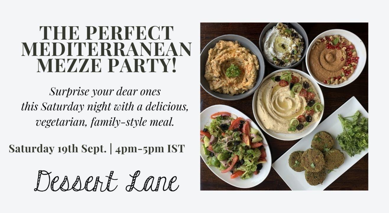 The Perfect Mediterranean Mezze Spread!