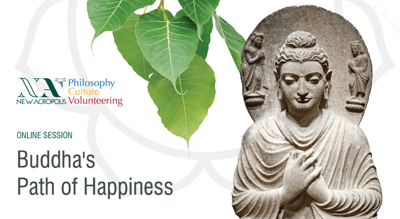 Buddha's path of Happiness