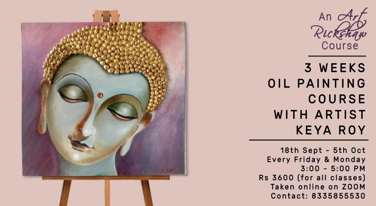 3 Weeks Oil Painting Course by Art Rickshaw