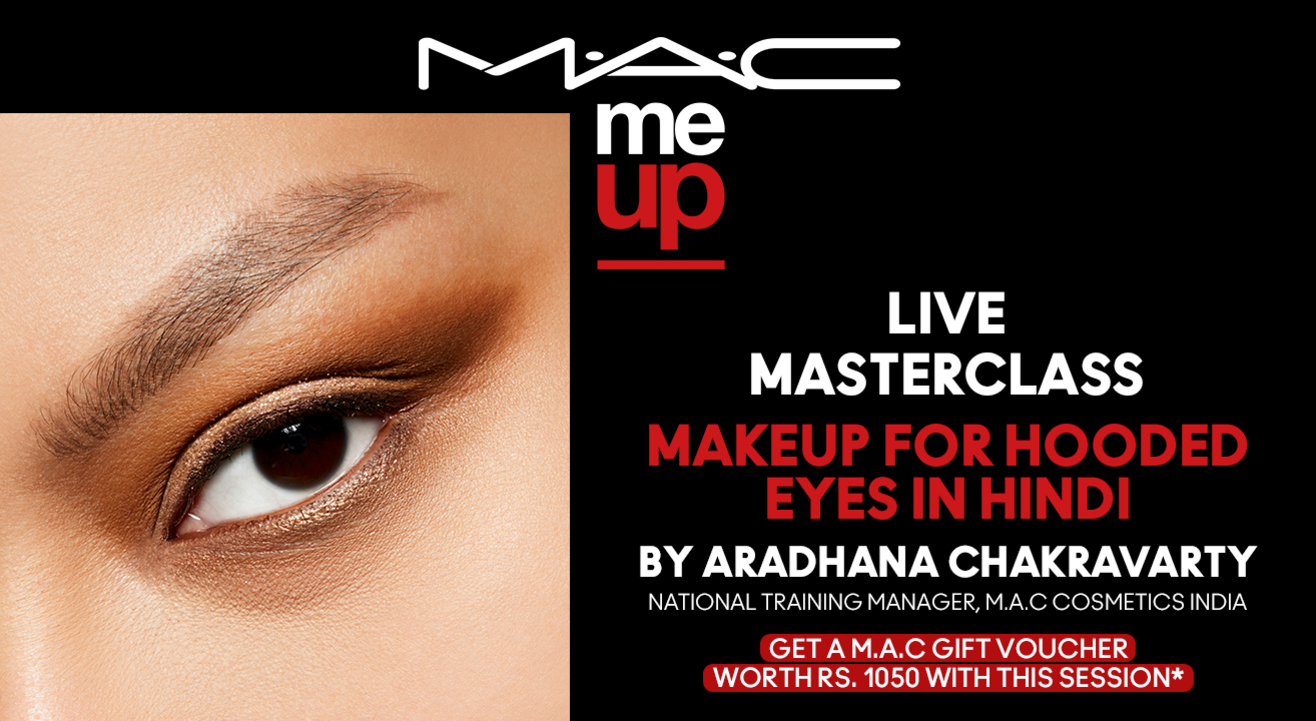 Makeup for Hooded Eyes in Hindi | M.A.C Cosmetics
