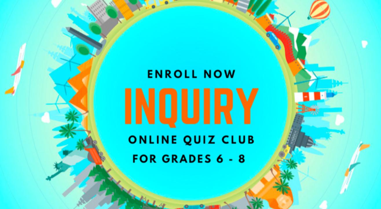 INQUIRY - Online quiz club for kids