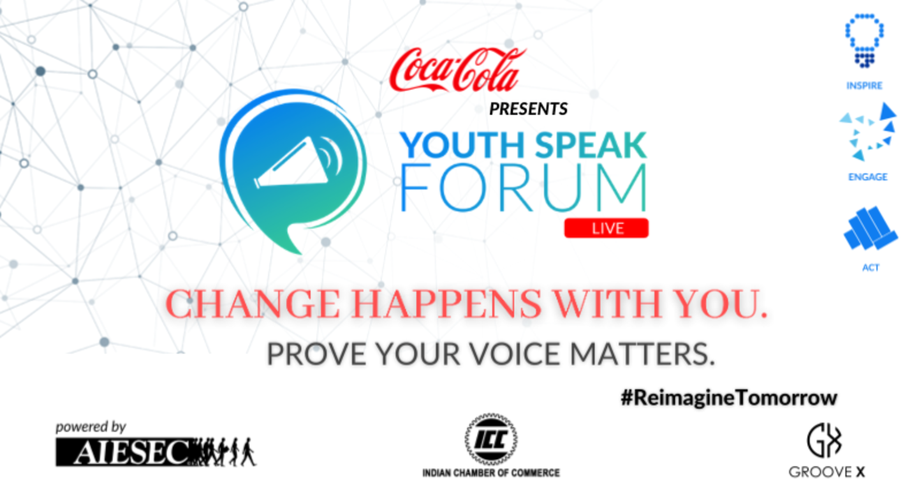 Coca-Cola YouthSpeak Forum by AIESEC Kolkata