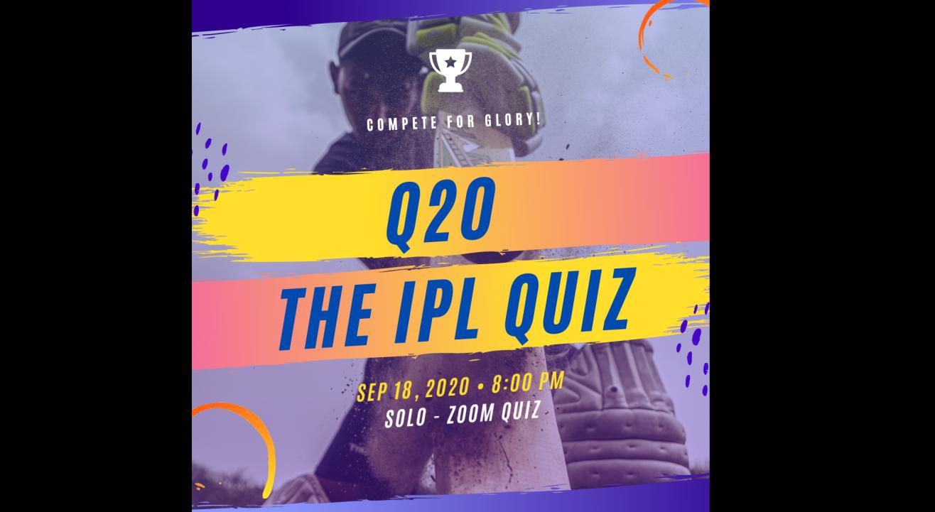 Q20 : The IPL Quiz