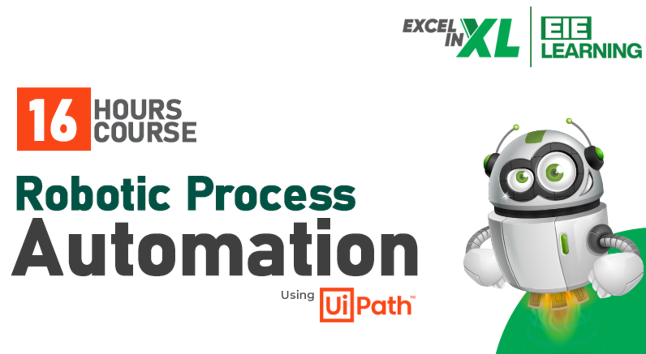 Robotic Process Automation (RPA) using Ui Path Certification course #EiElearning