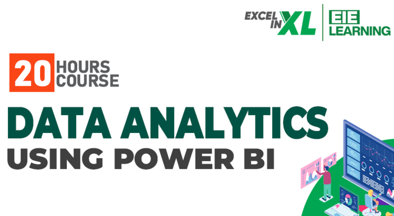 Data Analytics using Power BI Certification course #EiElearning