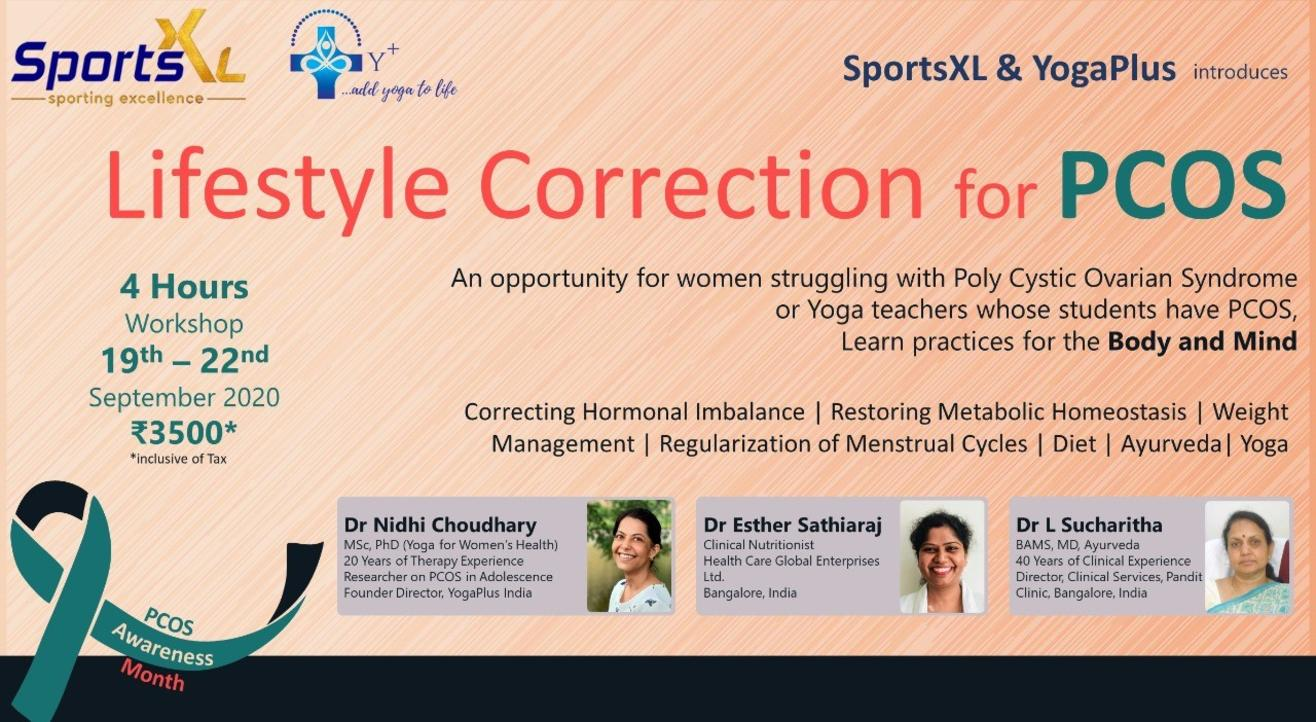 Lifestyle correction for PCOS