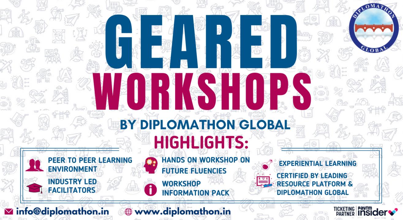 GEARED Workshops by Diplomathon Global