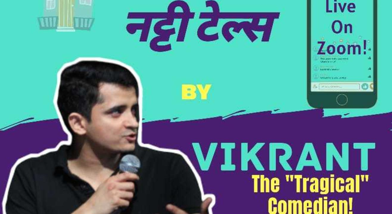"""Nutty Tales"" II A Solo Standup Comedy Show by Vikrant Sharma II Lafz Entertainments"