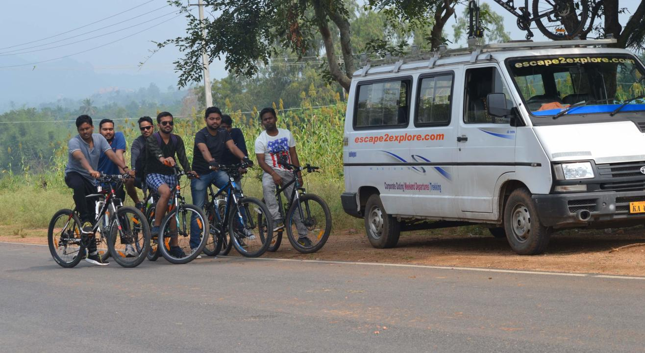 Savanadurga One day Cycling with Kayaking   Escape2explore