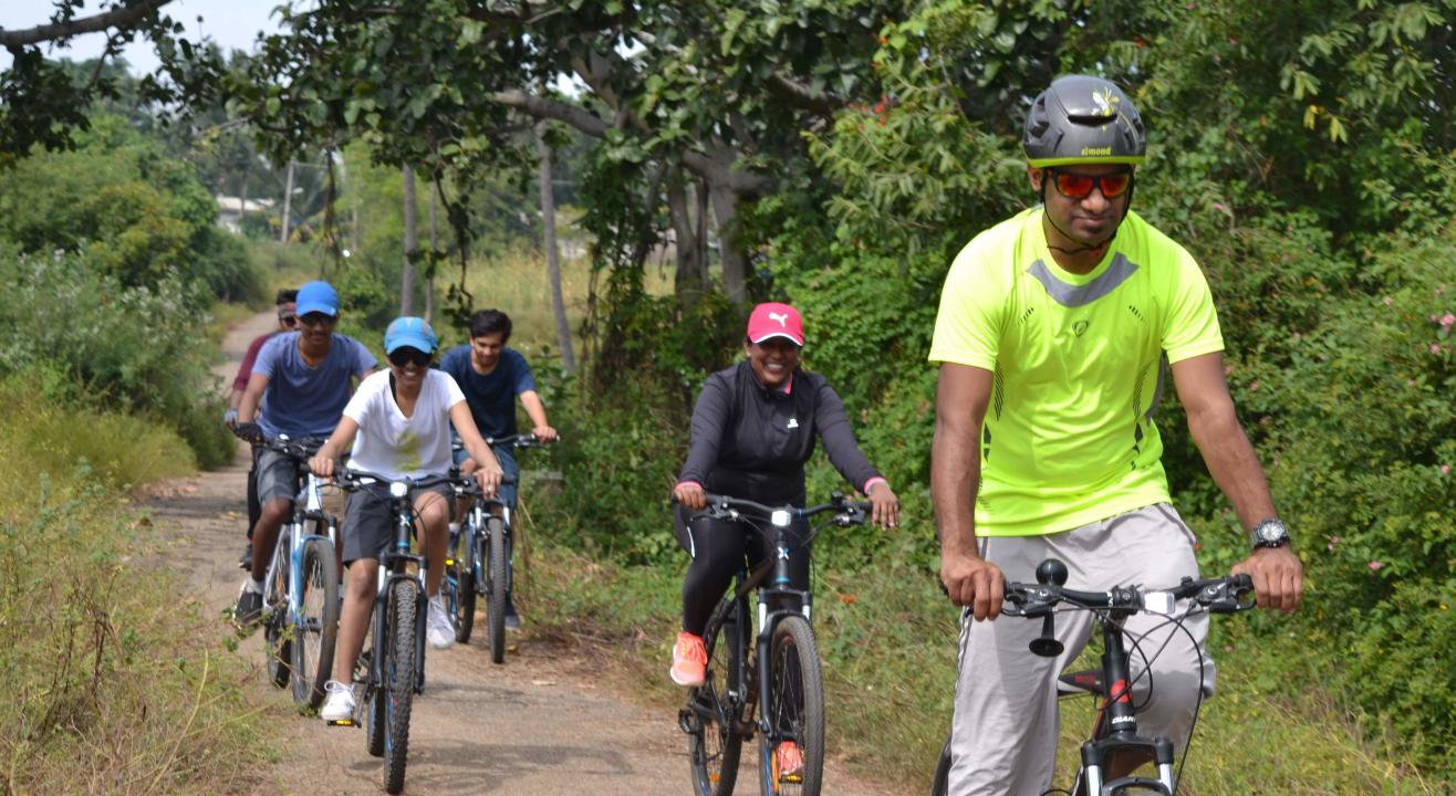 Ramanagara Cycling with Water Activities | Escape2explore