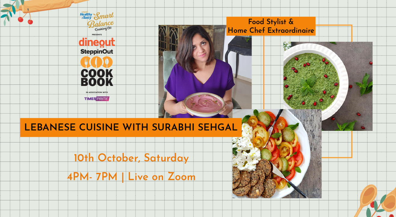 Emami Immunity Booster Oil presents The Dineout SteppinOut Cookbook with Chef Surabhi Sehgal