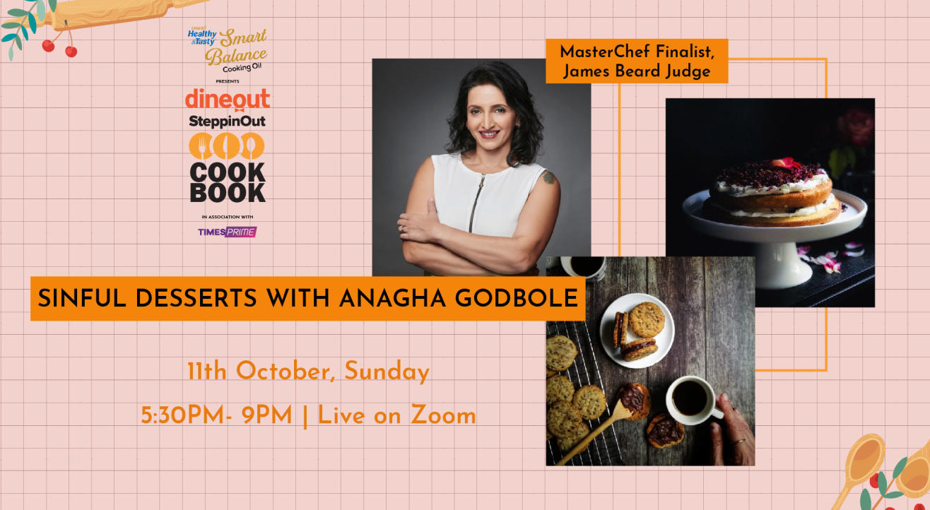 Emami Immunity Booster Oil presents The Dineout SteppinOut Cookbook with Chef  Anagha Godbole