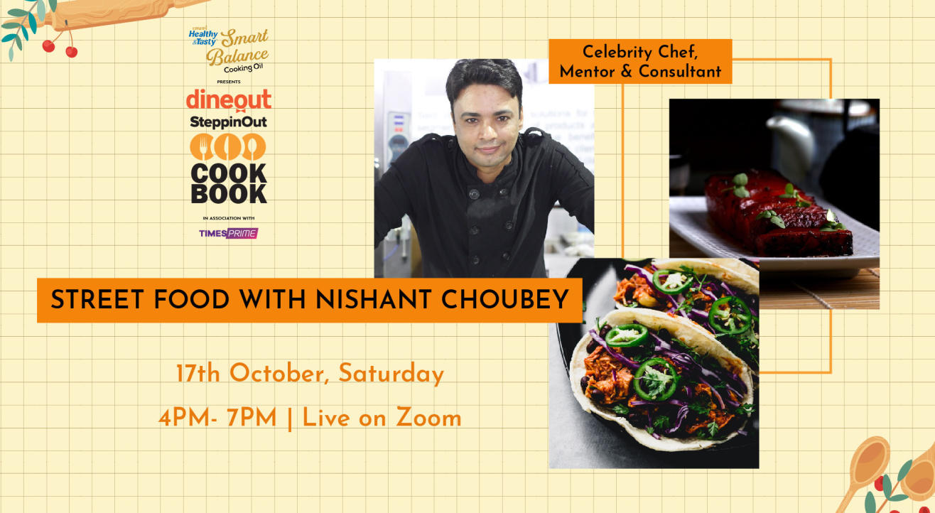 Emami Immunity Booster Oil presents The Dineout SteppinOut Cookbook with Chef Nishanth Choubey