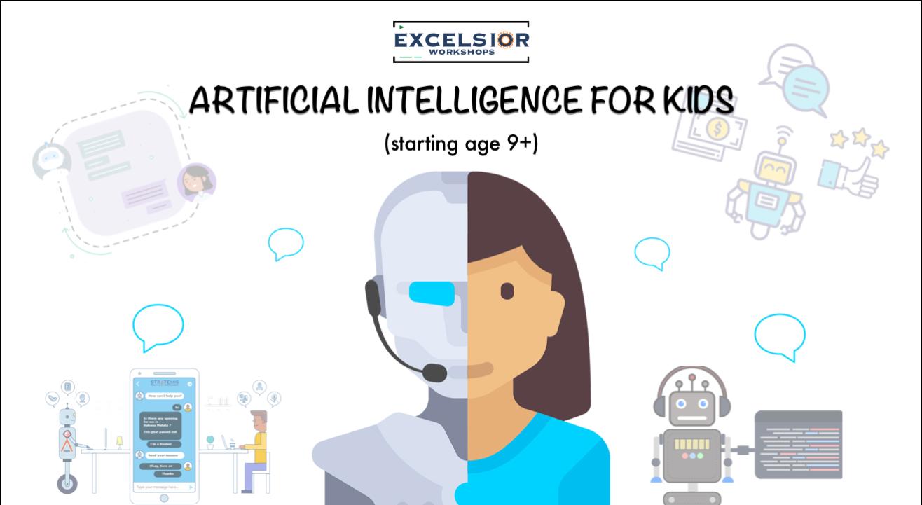 Artificial Intelligence for kids - Online Workshop