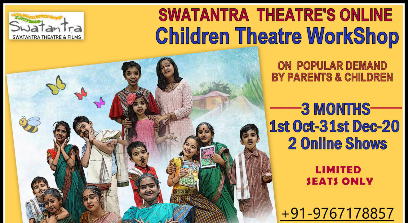 Swatantra Theatre's Online Children Theatre WorkShop