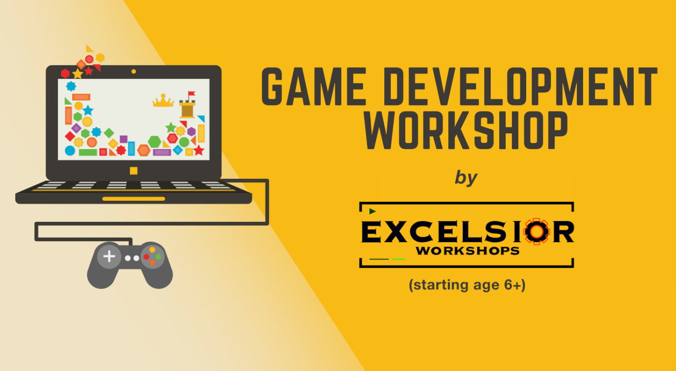 Game Development for Kids - Online Workshop