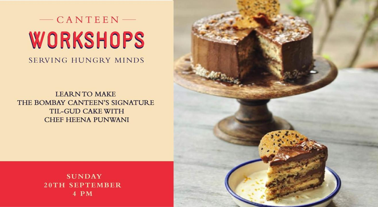 Learn to make The Bombay Canteen's signature Til-Gud cake with Chef Heena!