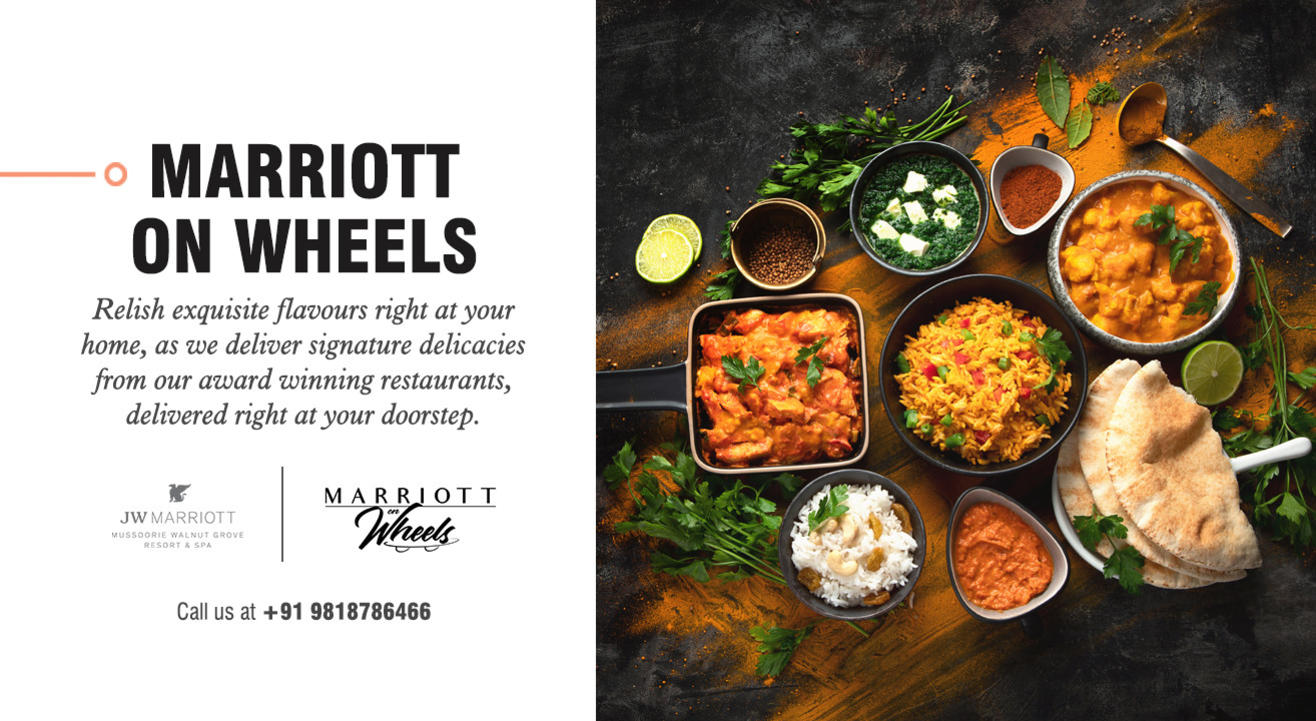 Marriott on Wheels by JW Marriott Mussoorie Walnut Grove Resort & Spa