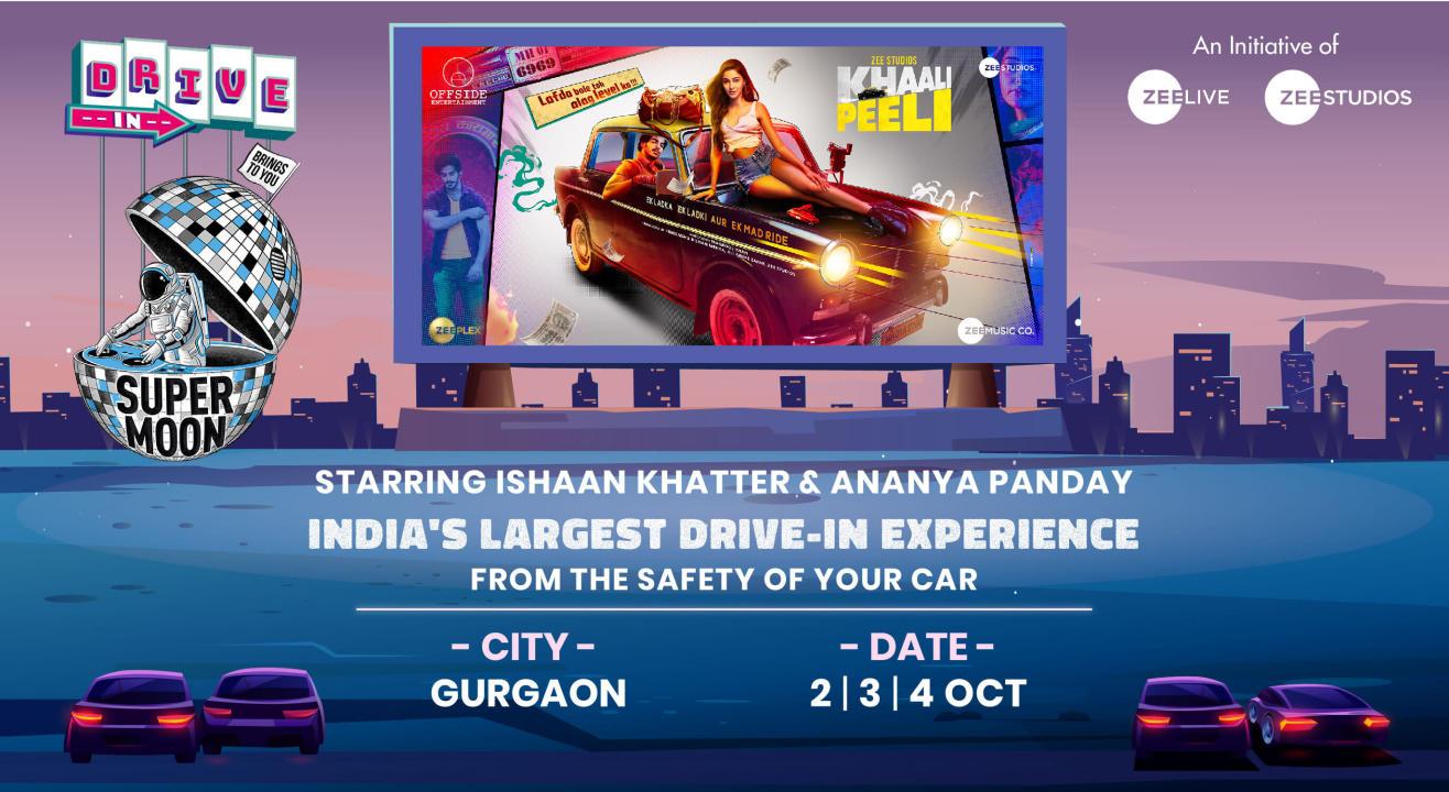 Supermoon Drive-In ft. Khaali Peeli | Gurgaon