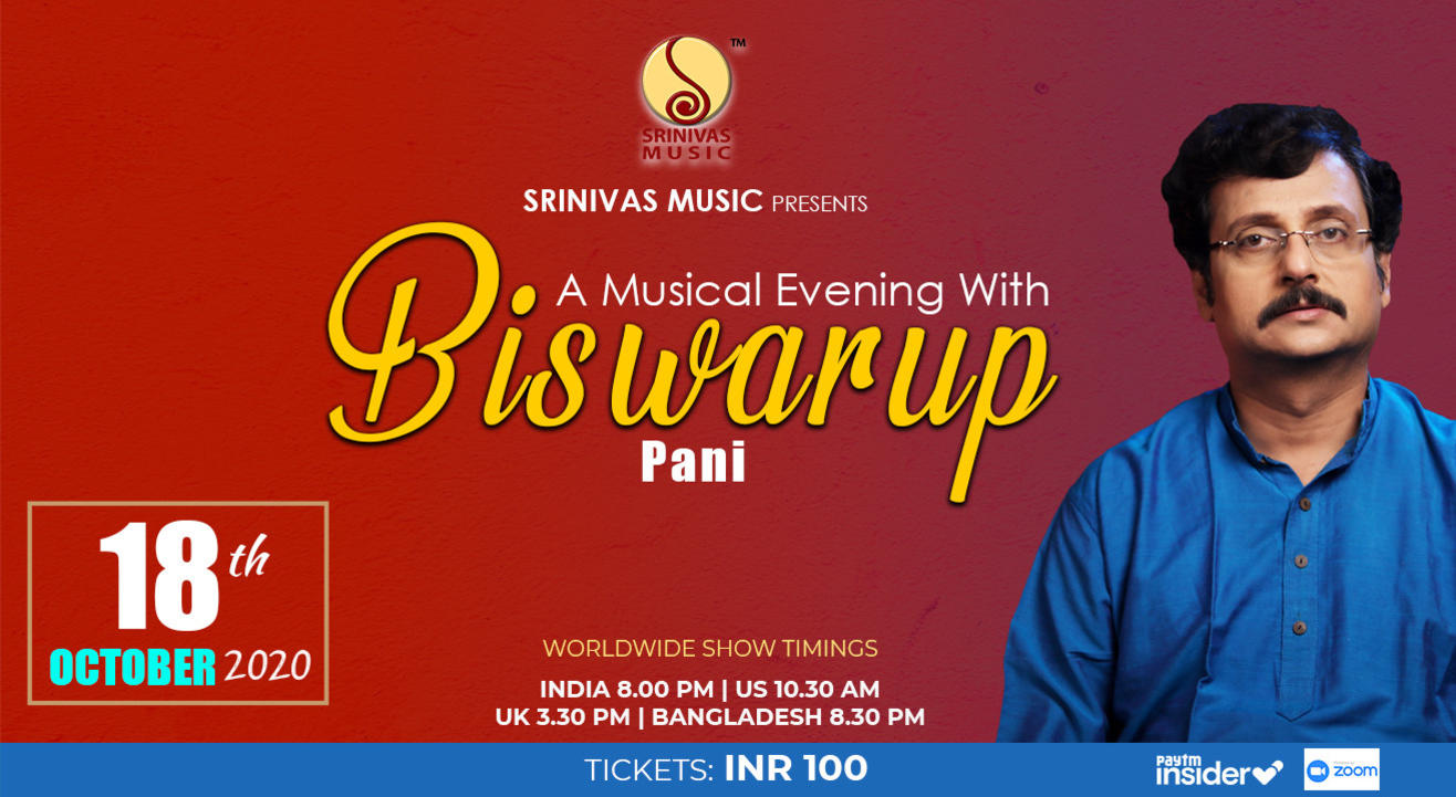 A Musical Evening with Biswarup Pani