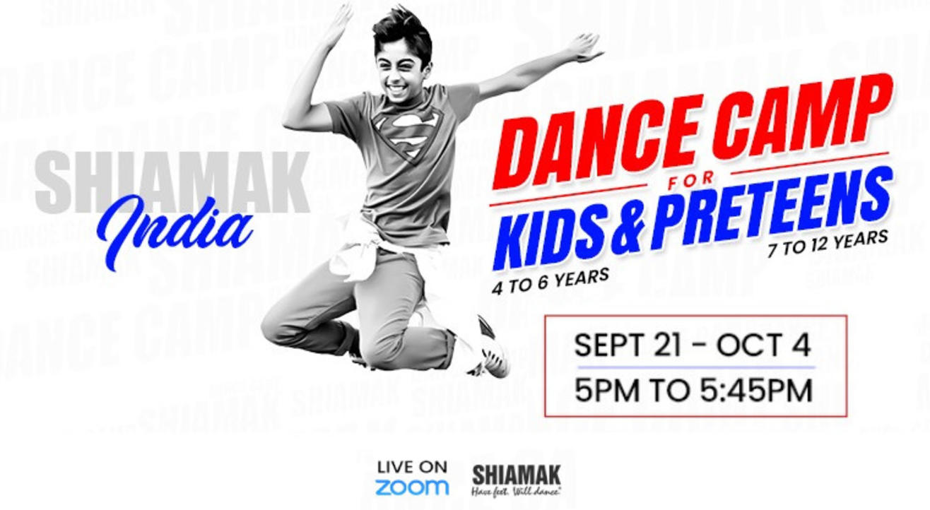 SHIAMAK Dance Camp for Kids (4-6 years) - Batch #2