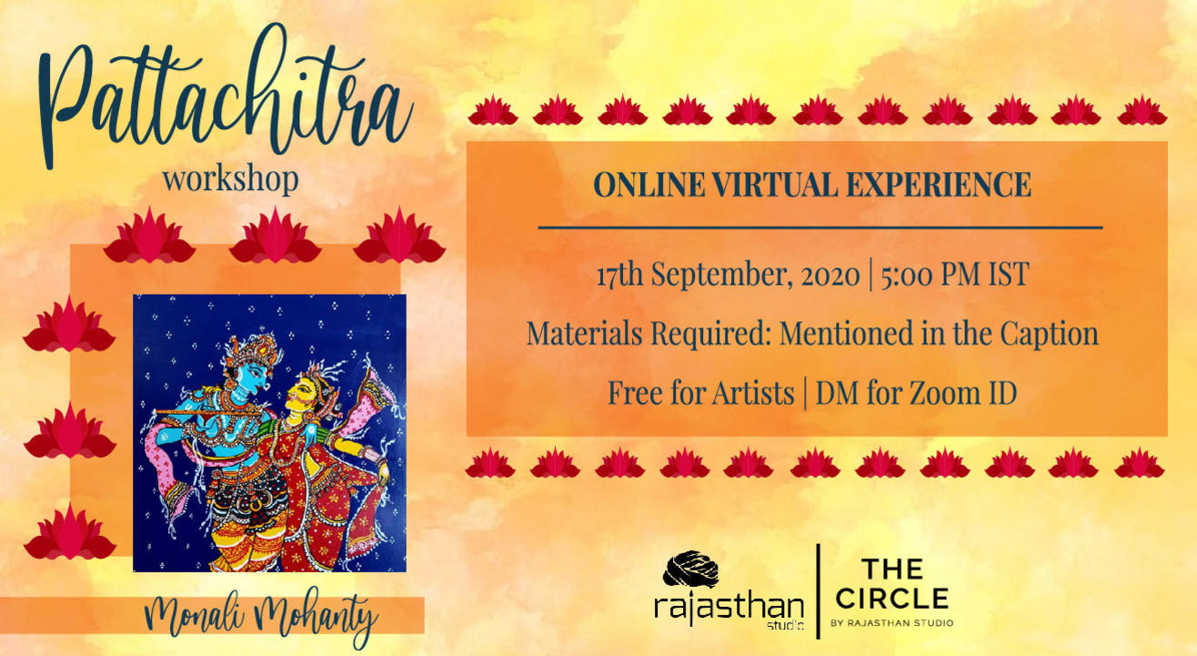 Pattachitra Workshop with Rajasthan Studio