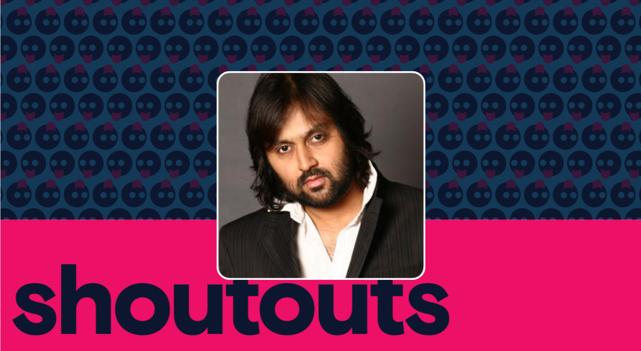 Request a Shoutout by Soham Chakrabarty