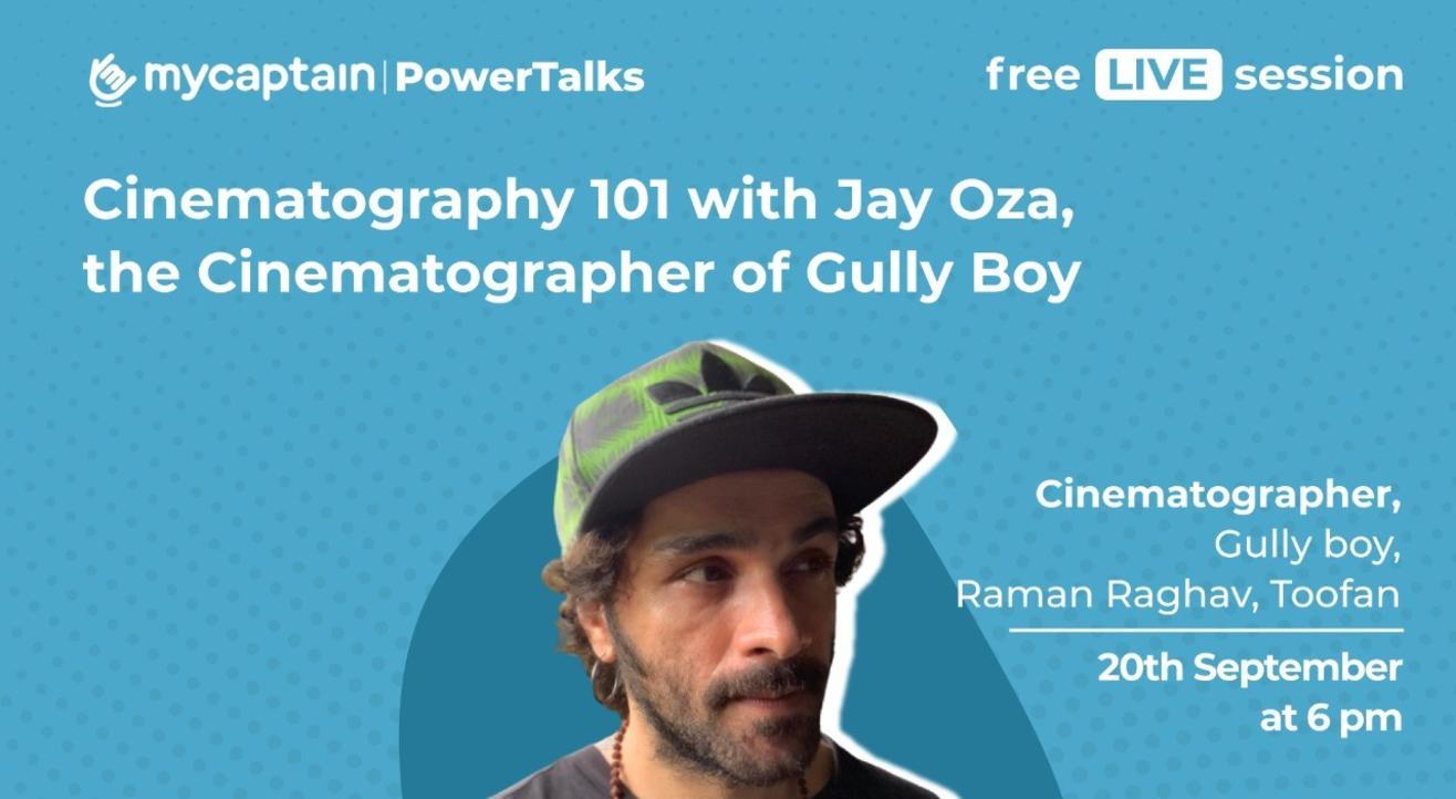MyCaptain PowerTalks with Jay Oza