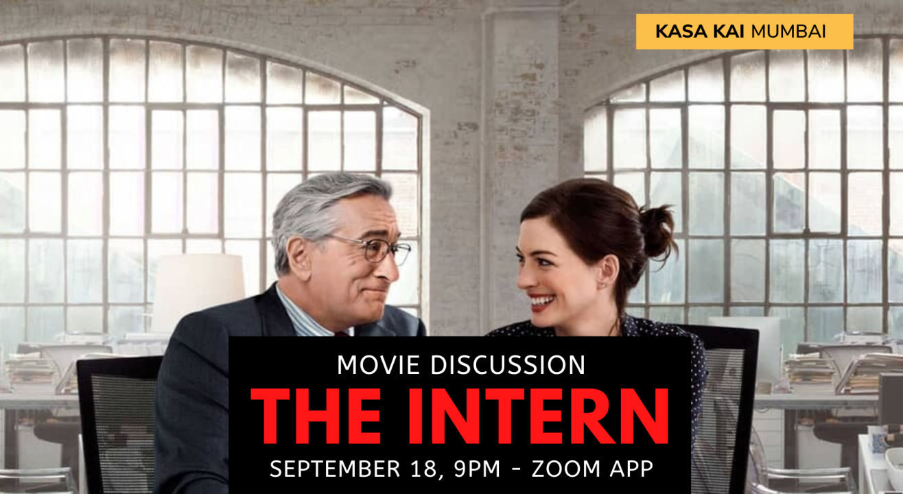 Movie Discussion: The Intern on Zoom App