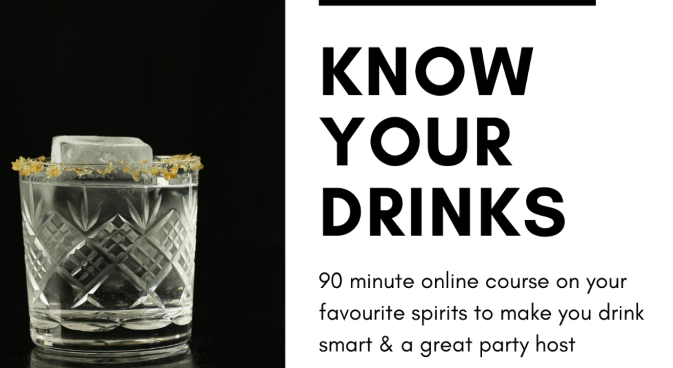 Know Your Drinks -  Designed for consumers to drink and host better.