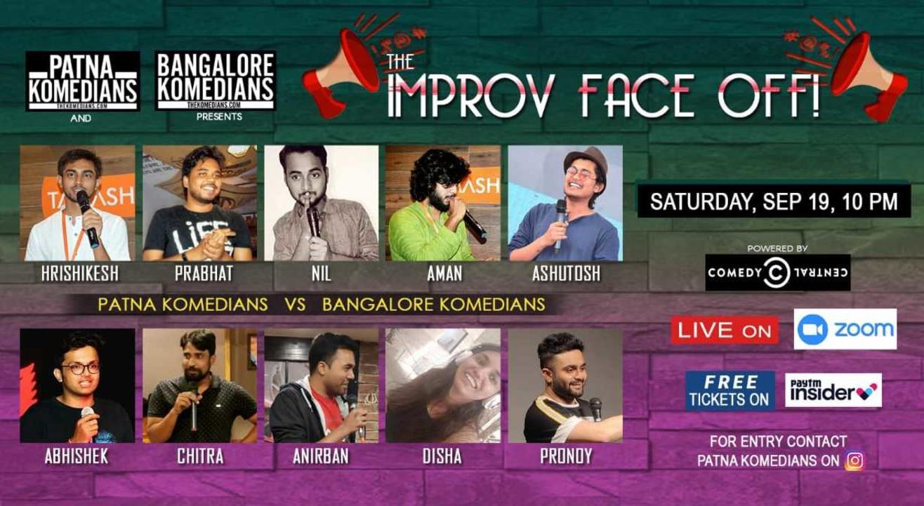 Patna Komedians vs Banglore Komedians Improv Face Off