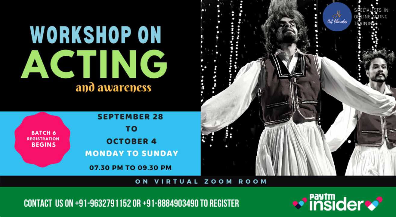 Online Acting Workshop-Art Liberates