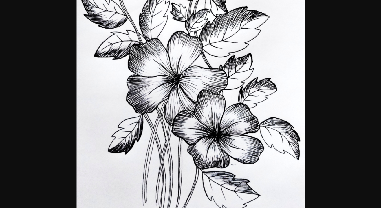 Floral Illustration with Dipali