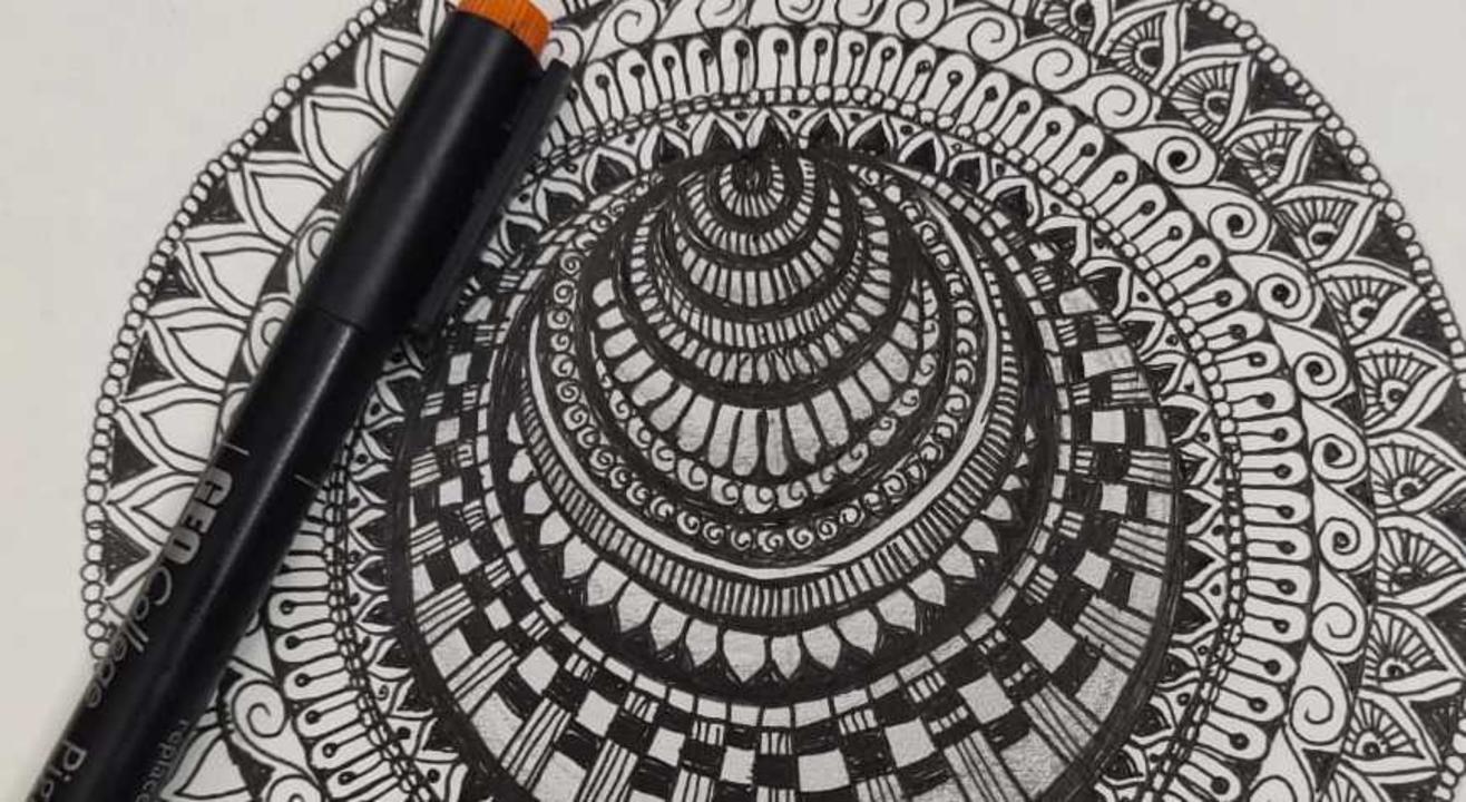 Learn 3 D illusion Mandala Workshop With Mira Vara