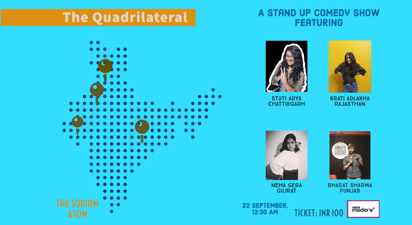 The Quadrilateral - A stand up comedy show