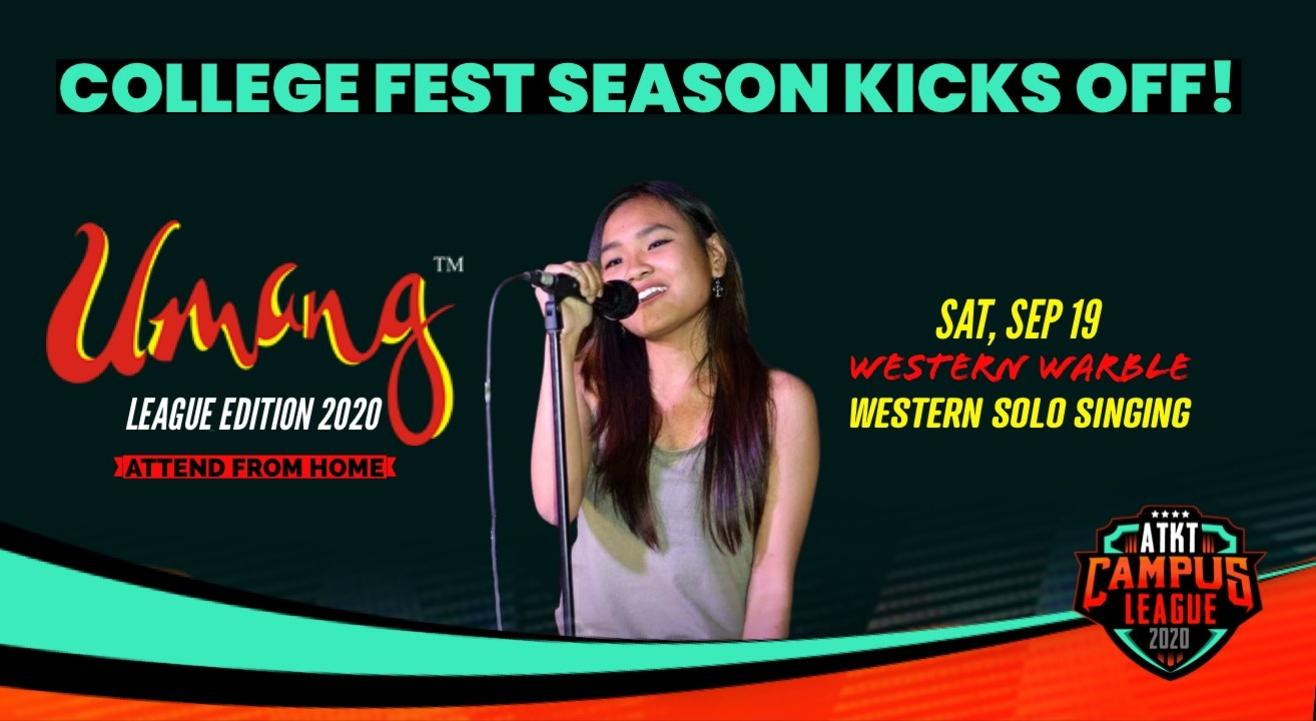 Western Warble | Umang 2020 | ATKT Campus League