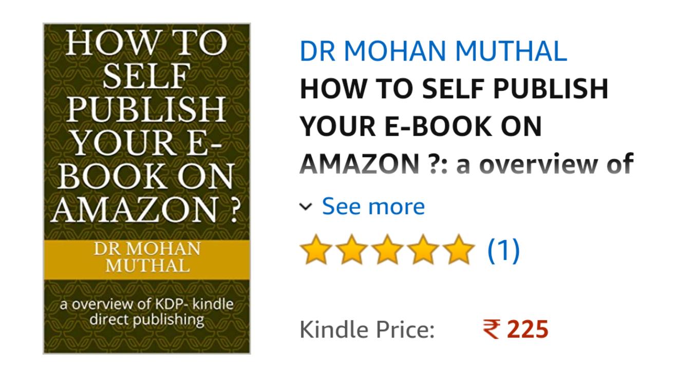 Amazon eBook publishing