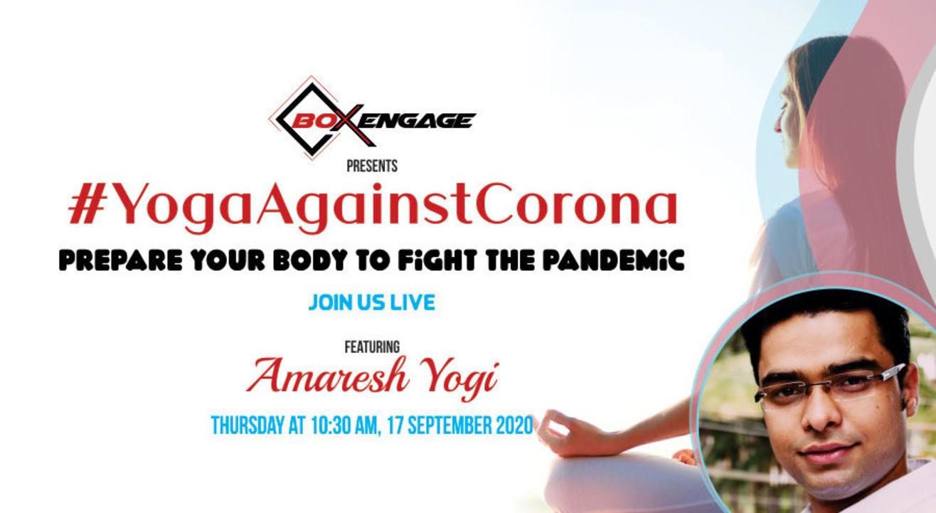 oga against Corona with Amaresh Yogi