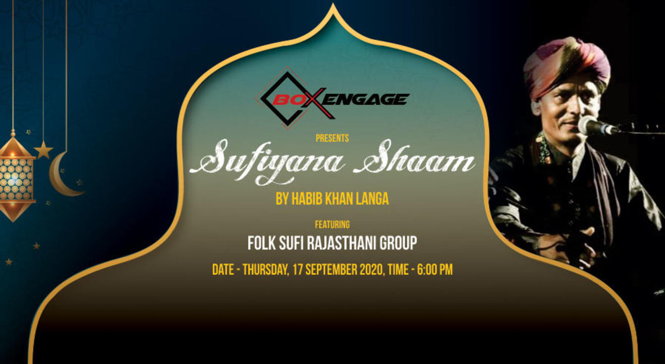 Sufiyana Shaam with Folk Sufi Rajasthani Group
