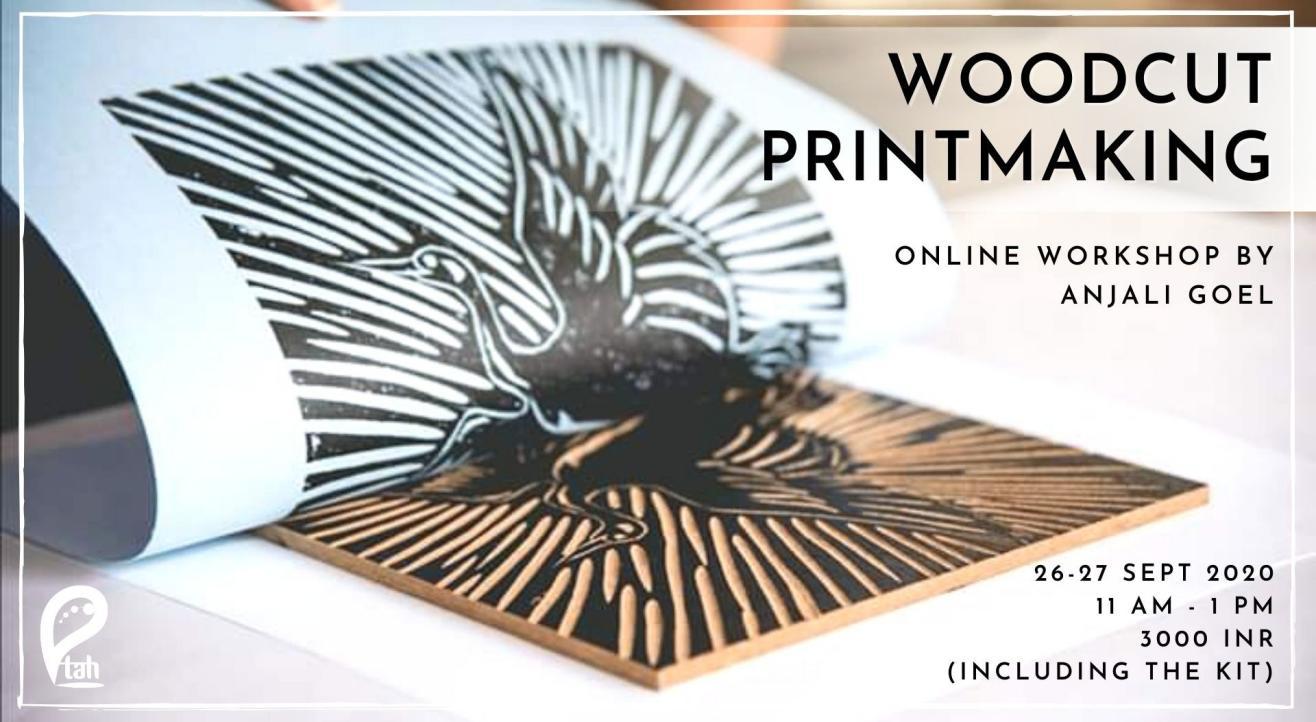 Woodcut Printmaking : Online Workshop