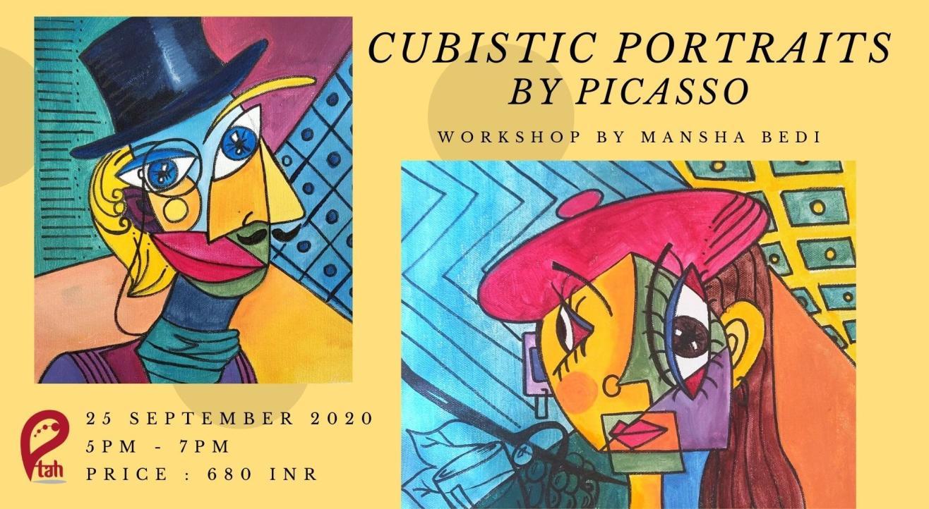 Cubistic Portraits by Picasso : Online Workshop