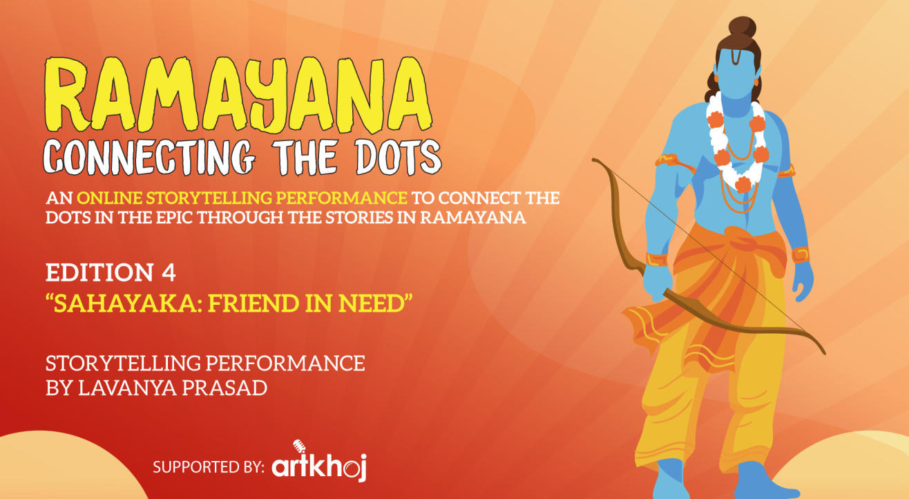 Ramayana, Connecting the Dots - Online Storytelling Performance