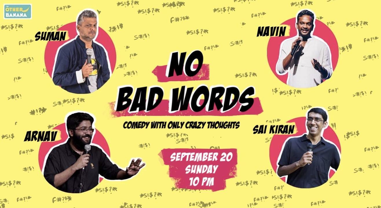 NO BAD WORDS!
