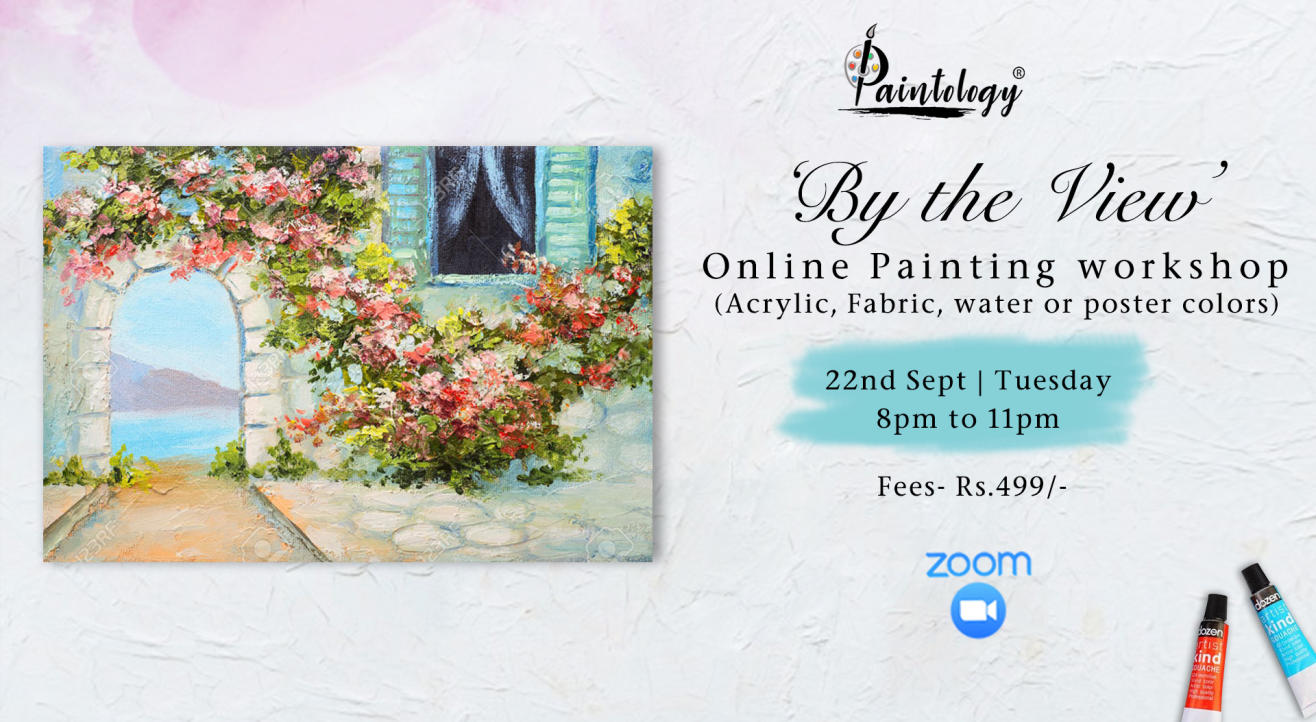 'By the View' painting workshop by paintology