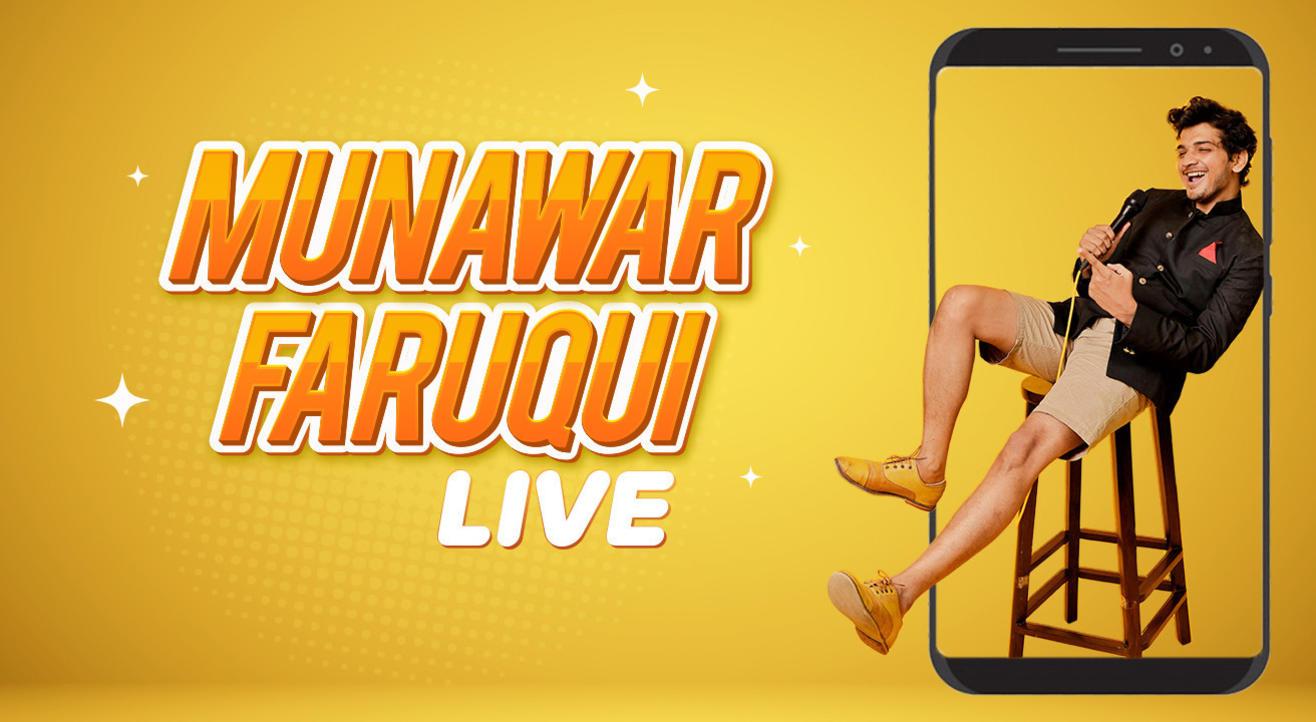 Munawar Faruqui Live