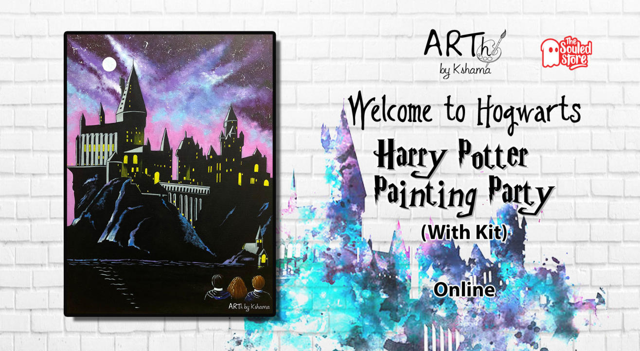 Harry Potter Painting Party- ARTh by Kshama