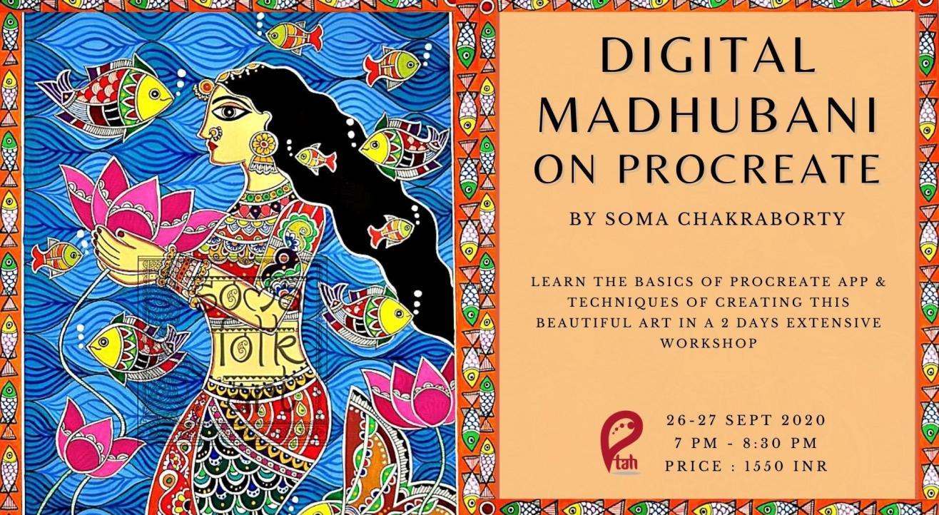 Madhubani on Procreate : Online Workshop